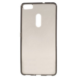 Clear Anti-watermark TPU Gel Protector Case for Asus Zenfone 3 Ultra ZU680KL - Grey