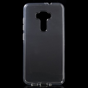 Clear Glossy TPU Gel Back Shell Cover for Asus Zenfone 3 ZE552KL - Transparent