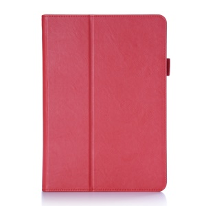 PU Leather Cover Card Holder Case for Asus Zenpad 3S 10 Z500M - Red
