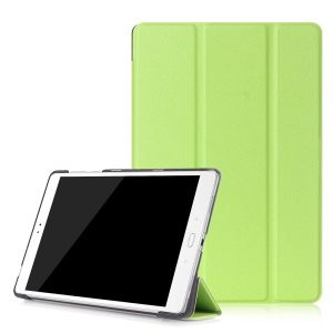For Asus Zenpad 3S 10 Z500M Smart Leather Case with Tri-fold Stand - Green