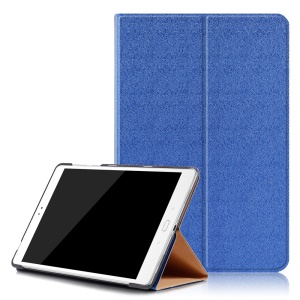 Sand-like Texture Smart Leather Tablet Shell for Asus Zenpad 3S 10 Z500M - Dark Blue