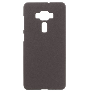 Matte Quicksand Hard PC Case for Asus Zenfone 3 Deluxe ZS570KL - Coffee