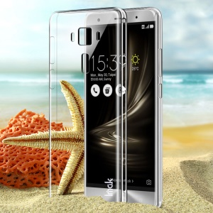 IMAK Clear Plastic Case Abrasion Resistant for Asus Zenfone 3 Deluxe ZS570KL