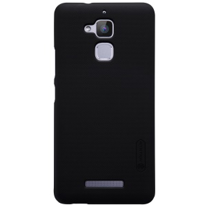NILLKIN Frosted Shield PC Hard Case for Asus Zenfone 3 Max ZC520TL + Screen Protector - Black