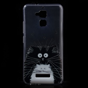 Patterned Soft Clear TPU Case for Asus Zenfone 3 Max ZC520TL - Chubby Animals