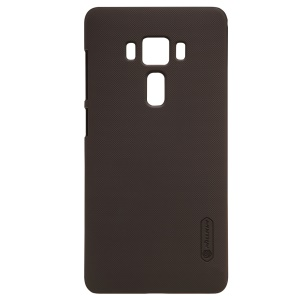NILLKIN Super Frosted Shield PC Back Case for Asus Zenfone 3 Deluxe ZS570KL - Brown