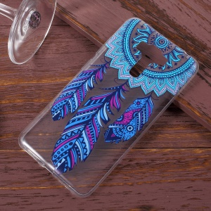 Pattern Printing TPU Case for Asus ZenFone 3 Laser ZC551KL - Tribal Feather Dreamcatcher