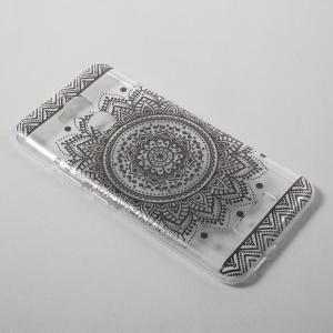 Patterned TPU Ultrathin Cover for Asus Zenfone 3 Max ZC520TL - Mandala Pattern