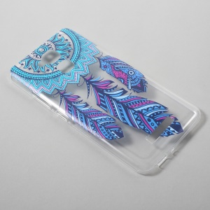 Ultrathin TPU Gel Skin Case for Asus Zenfone 3 Max ZC520TL - Tribal Dream Catcher