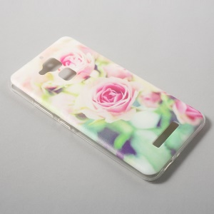 Ultrathin TPU Mobile Cover for Asus Zenfone 3 Max ZC520TL - Pretty Roses