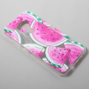 Patterned Clear TPU Phone Cover for Asus Zenfone 3 ZE520KL - Watermelon