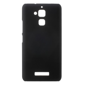 Rubberized Hard PC Case for Asus Zenfone 3 Max ZC520TL - Black