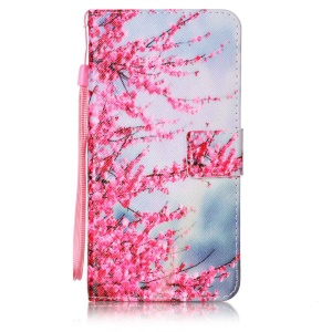 Wallet Leather Stand Case for Asus Zenfone 3 Deluxe ZS570KL - Vivid Flowers