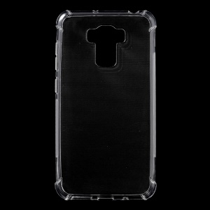 Non-slip Inner Glossy Outer TPU Case for Asus Zenfone 3 Max ZC553KL 5.5-inch - Transparent