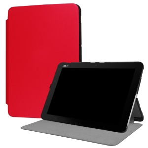 Stand Leather Tablet Protective Cover for Asus Transformer Mini T102HA - Red