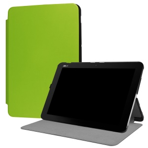 Stand Leather Protective Cover for Asus Transformer Mini T102HA - Green