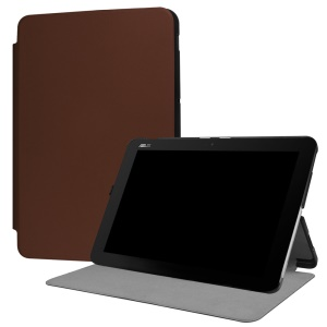 Stand Leather Case Protector for Asus Transformer Mini T102HA - Coffee