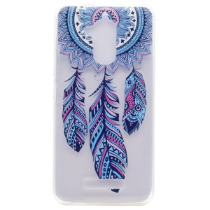 Pattern Printing TPU Case for Asus Zenfone 3 Max ZC520TL - Dream Catcher