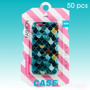 50Pcs/Lot Fashion PVC Retail Packaging Package Box for iPhone 7 6s 6 Cases (KJ-667)