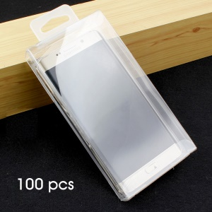50Pcs/Lot Transparent PET Packaging Package Box for Mobile Phone Cases, Size: 163 x 83 x 23mm (KJ-668)