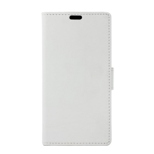 Wallet Stand Leather Mobile Phone Cover for Asus Zenfone Go ZB500KL - White