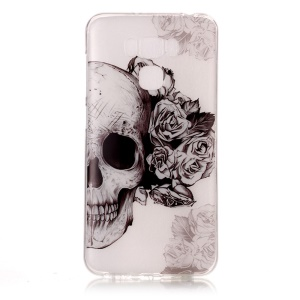 Pattern Printing IMD TPU Cover for Asus Zenfone 3 Max ZC553KL - Cool Skull