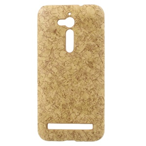 Marble Grain PU Leather Coated Hard Back Case for Asus Zenfone Go ZB500KL