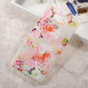 For Asus Zenfone 3 Max ZC553KL Embossment TPU Mobile Case - Pretty Flowers