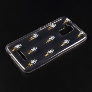 For Asus Zenfone 3 Max ZC520TL Embossed Pattern TPU Phone Case Accessory - Ice Cream