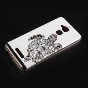 For Asus Zenfone 3 Max ZC520TL Embossed Pattern TPU Phone Case Accessory - Turtle