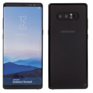 Fake Non-working 1:1 Scale Colored Screen Dummy Replica Model for Samsung Galaxy Note 8 SM-N950 - Black