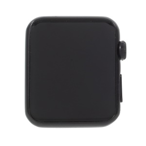 1:1 Scale Non-working Black Screen Dummy Replica Model for Apple Watch Series 3/2/1 38mm - Black
