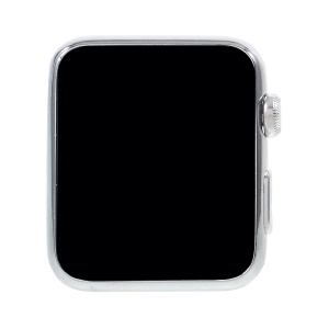 Colored Screen 1:1 Scale Non-working Dummy Watch Replica Model for Apple Watch Series 3/2/1 38mm - Silver