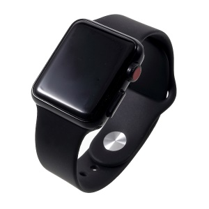1:1 Scale Non-working Black Screen Display Dummy Replica Model for Apple Watch Series 3 38mm - All Black