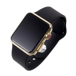 1:1 Scale Non-real Black Screen Display Dummy Replica Model for Apple Watch Series 3 38mm - Black / Gold