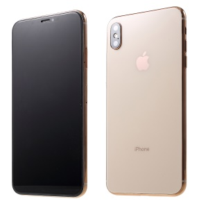 1:1 Scale Black Screen Non Working Display Dummy Model Phone for iPhone XS Max 6.5 inch - Gold