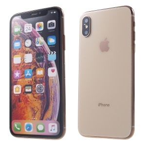 1:1 Scale Colored Screen Non-Working Dummy Phone Model for iPhone XS 5.8 inch - Gold