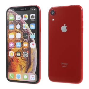 [Colored Screen] 1:1 Scale Non-working Dummy Phone Replica Model for iPhone XR 6.1 inch - Red