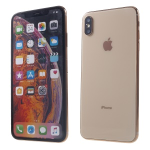 1:1 Scale Colored Screen Non-Working Display Dummy Phone Model for iPhone XS Max 6.5 inch - Gold