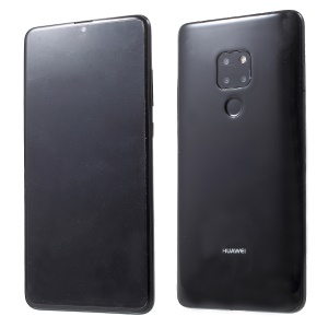 1:1 Scale Black Screen Non-real Display Dummy Phone for Huawei Mate 20 - Black