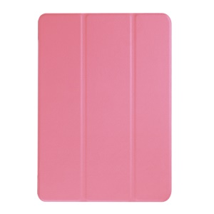 Tri-fold Leather Stand Case for Acer Iconia One 10 B3-A10 - Pink