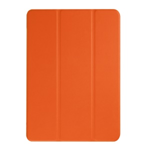 Tri-fold Stand PU Leather Case for Acer Iconia One 10 B3-A10 - Orange