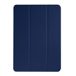 Tri-fold Stand Leather Case Cover for Acer Iconia One 10 B3-A10 - Dark Blue