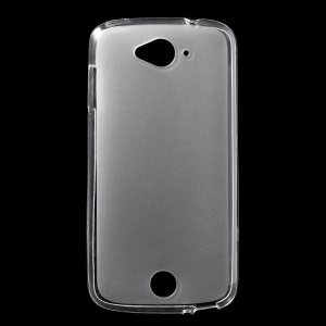 Double-sided Frosted TPU Shell Case for Acer Liquid Z530 Z530S - White
