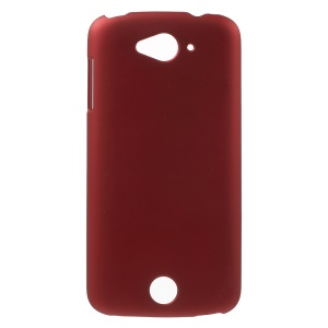 Rubber Coating Hard PC Cover for Acer Liquid Z530 Z530S - Red