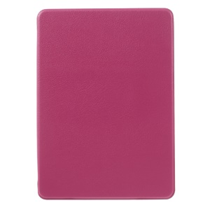 Litchi Leather Smart Shell for Amazon Kindle Paperwhite 3/2/1 - Rose