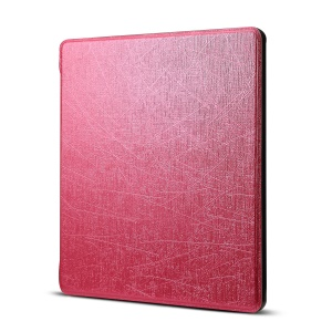 Oracle Texture Leather Flip Cover for Amazon All-New Kindle Oasis 7-inch (2017) - Rose