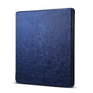 Oracle Texture Folio Leather Protective Case for Amazon All-New Kindle Oasis 7-inch (2017) - Dark Blue