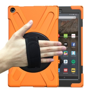 [X-Shape] PC + Silikon Combo Tablet Tasche Für Amazon Fire HD 10 (2015) - Orange