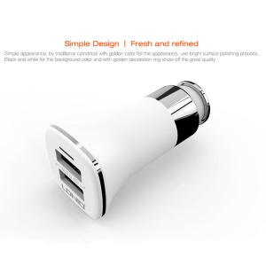 LDNIO C301 3.4A 2 USB Ports Smart Wall Charger for iPhone Samsung (CE/RoHS)